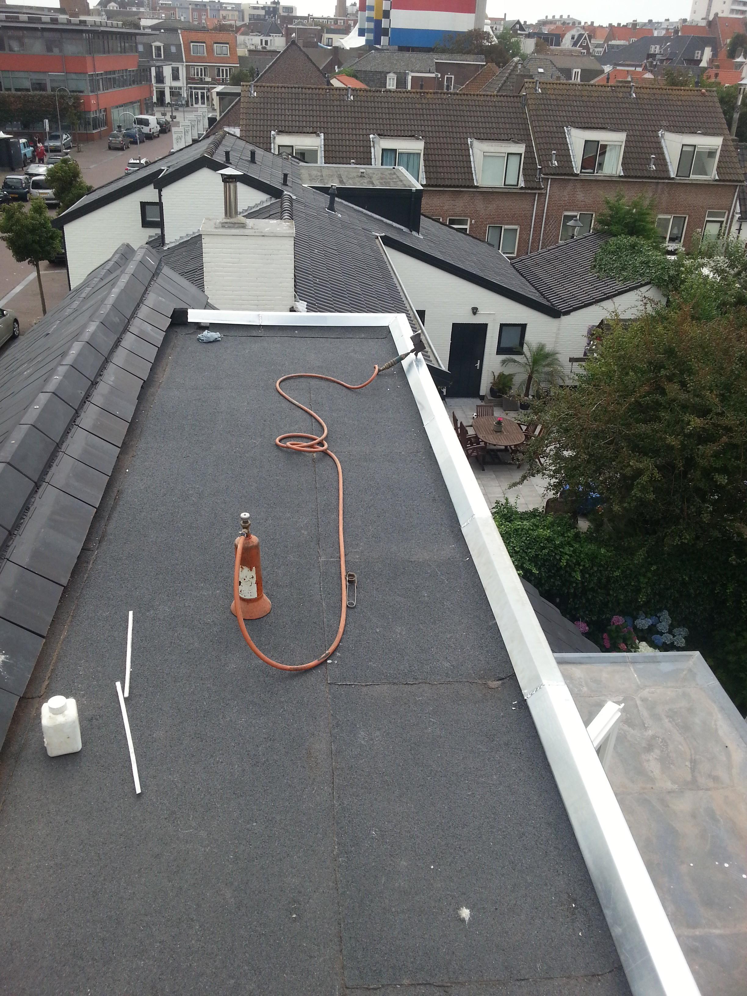 Keuken Verbouwen Aannemer : Keuken Verbouwen Aannemer : dakbedekking geplaatste keuken geplaatste